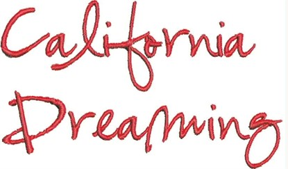Picture of California Dreaming Alphabet
